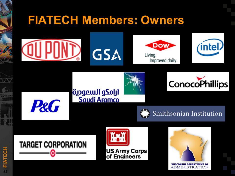 FIATECH Members: Owners