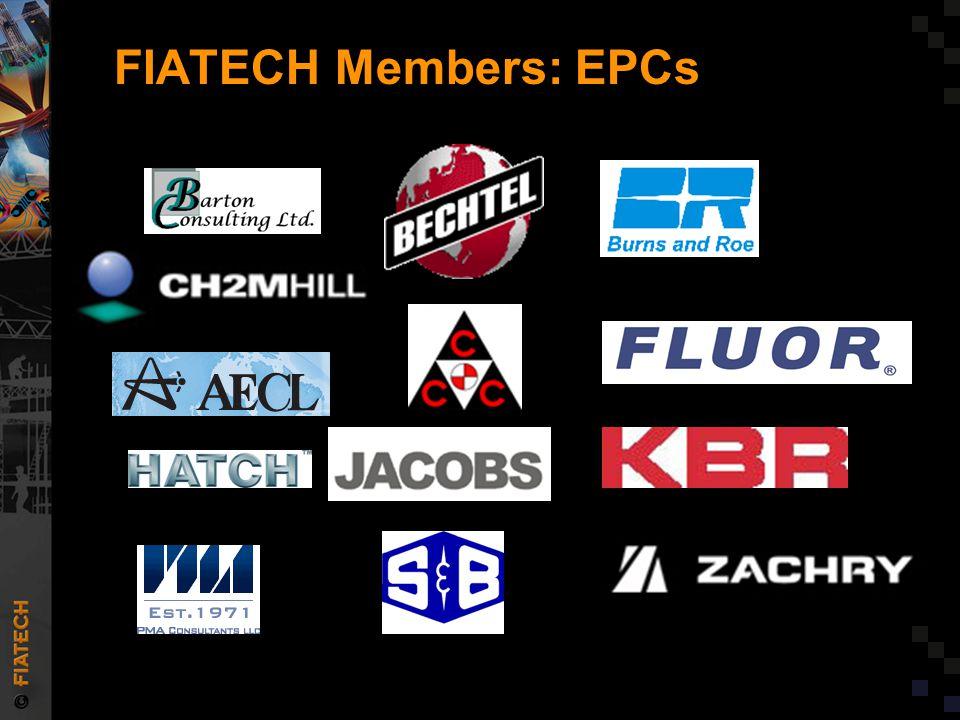 FIATECH Members: Technology Developers