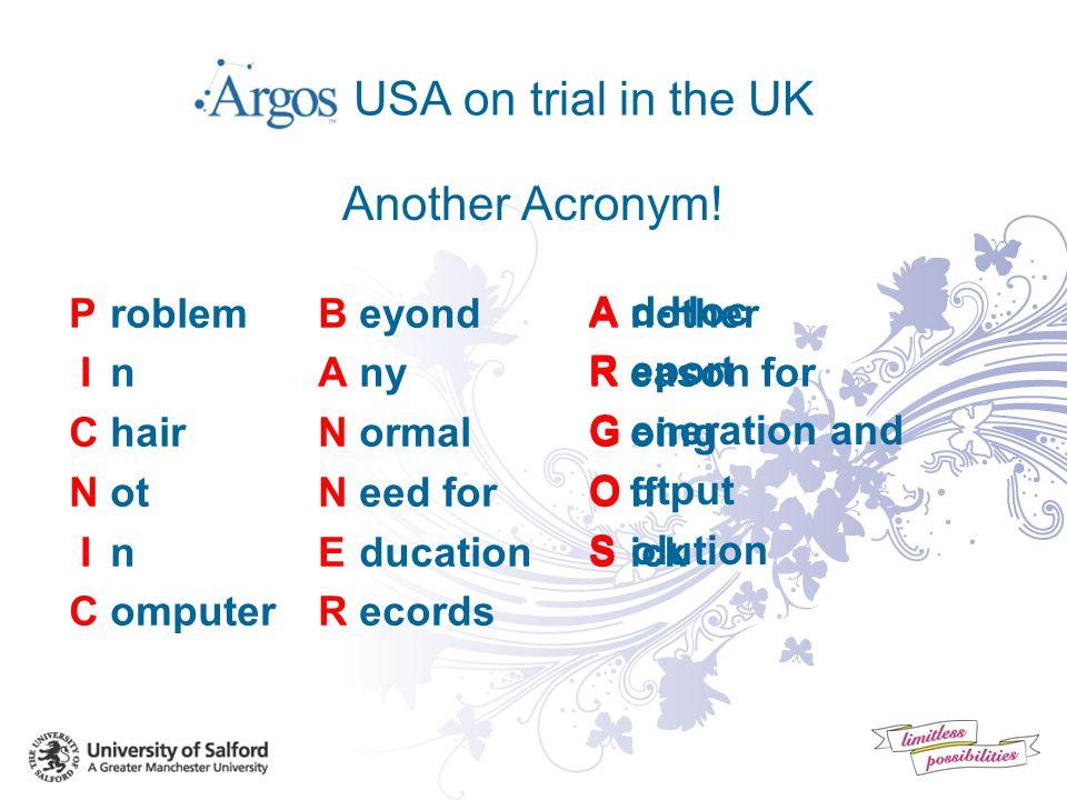 Argos in the UK