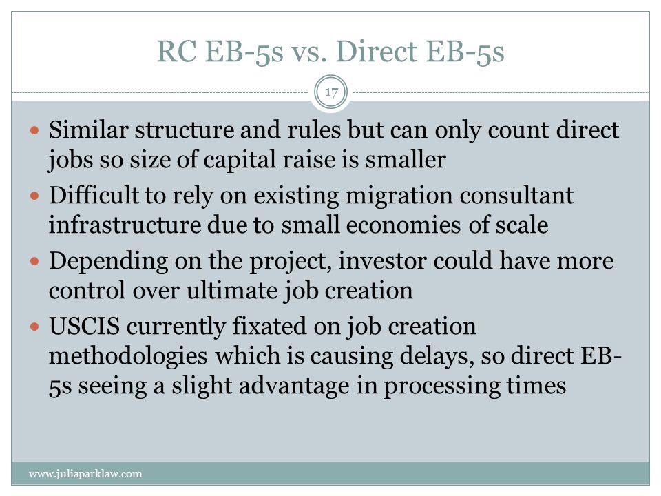 RC EB-5s vs.