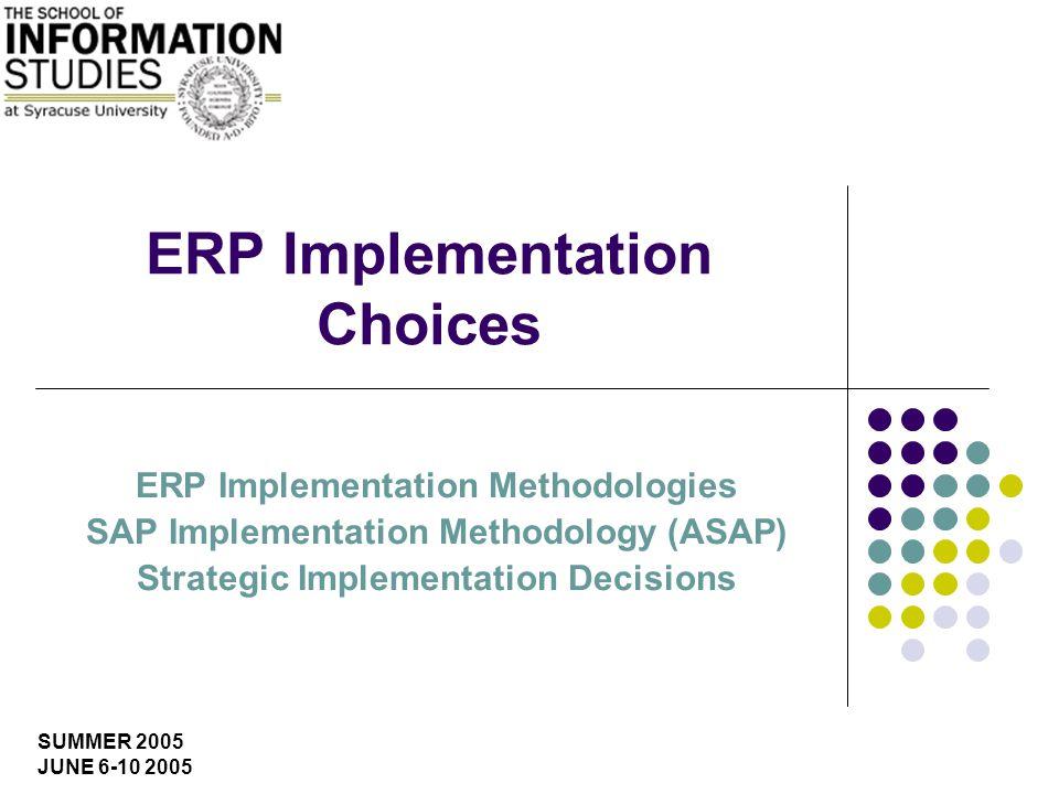 IST 600 ERP Systems: Key Implementation Issues U.Yeliz Eseryel What is SAP Netweaver.