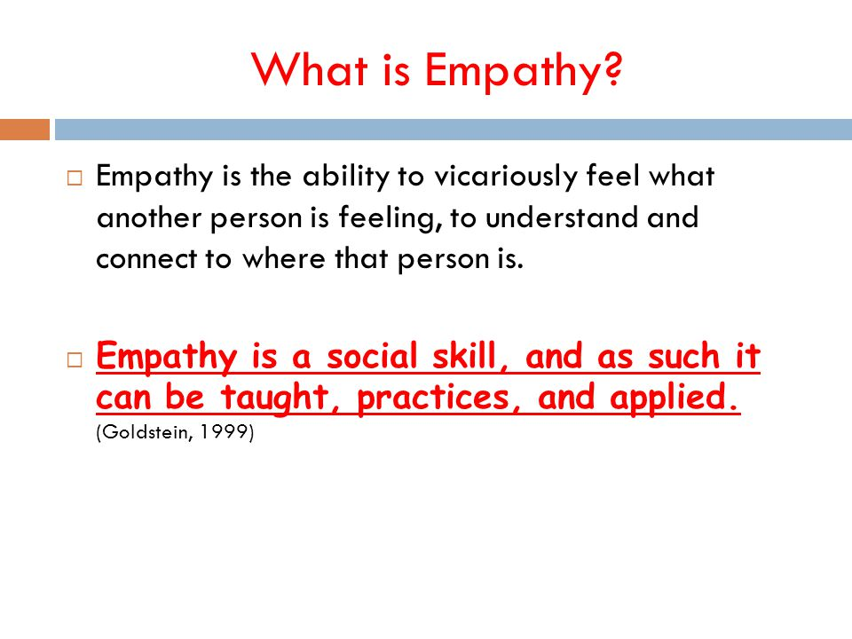 What is Empathy.