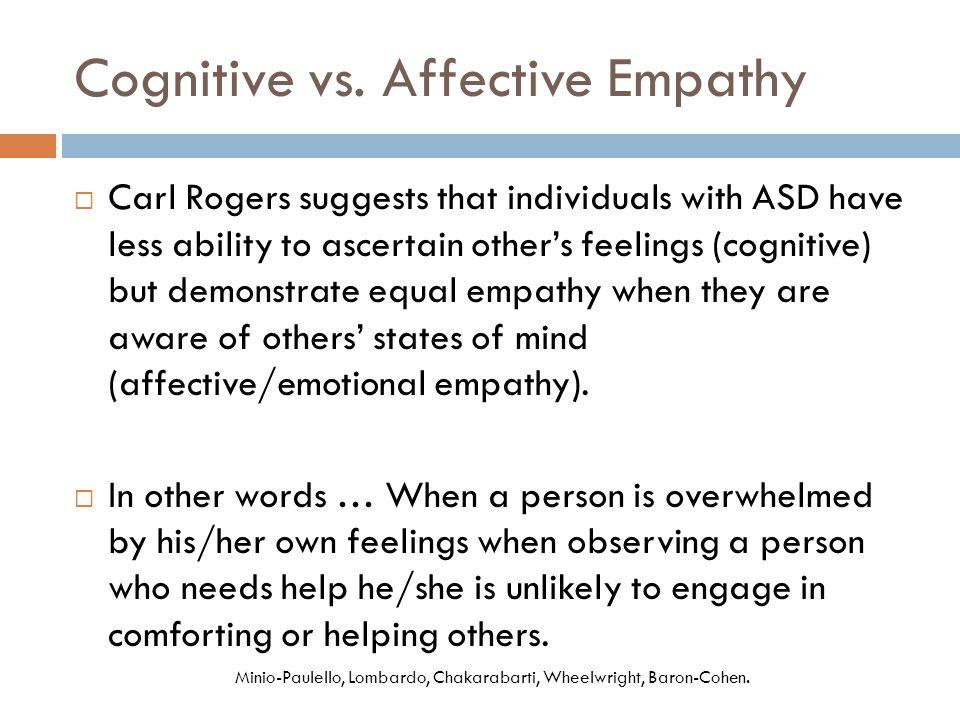 Cognitive vs.