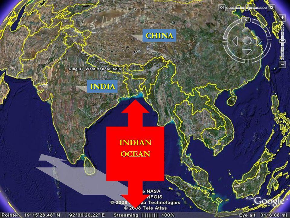 INDIA CHINA INDIANOCEAN