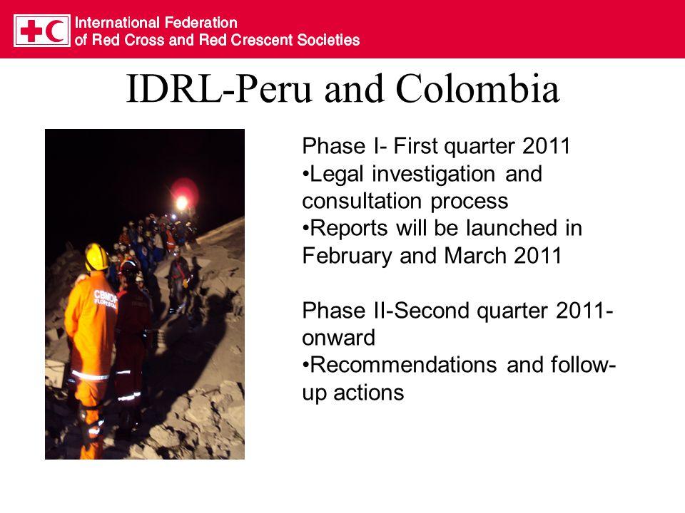 For more information IDRL website: –www.ifrc.org/idrlwww.ifrc.org/idrl –www.ifrc.org/sp/idrlwww.ifrc.org/sp/idrl