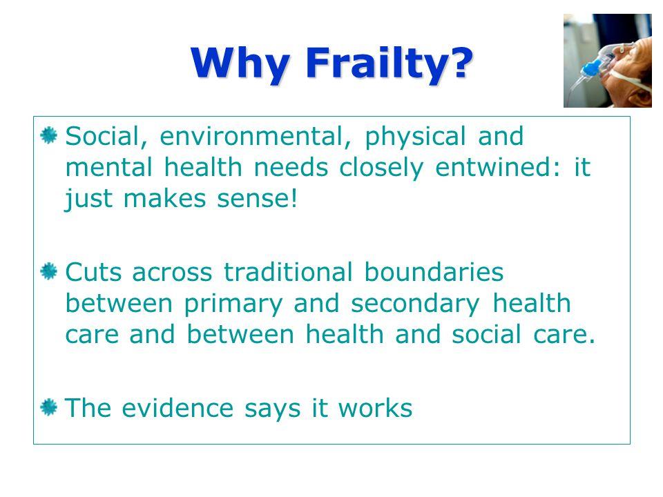 Why Frailty.