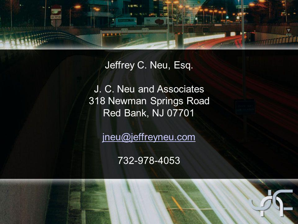 Jeffrey C. Neu, Esq. J. C.