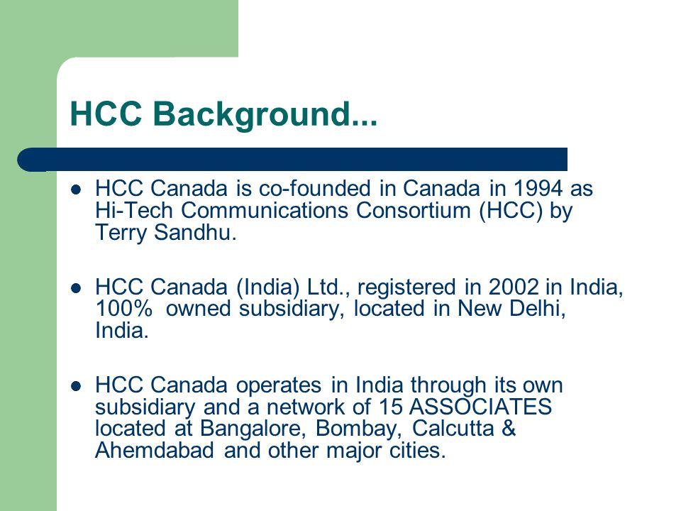 HCC Background...