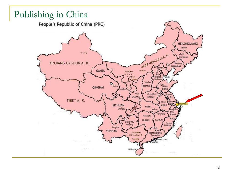 18 Publishing in China