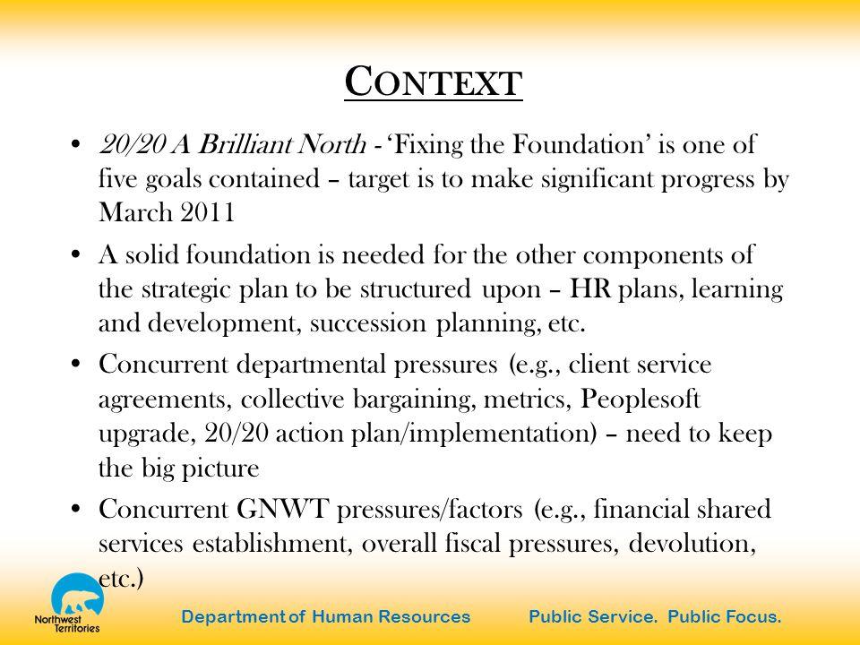 Department of Human Resources Public Service.Public Focus.