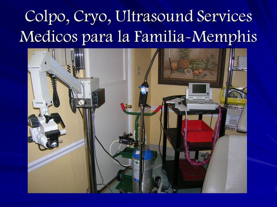 Colpo, Cryo, Ultrasound Services Medicos para la Familia-Memphis