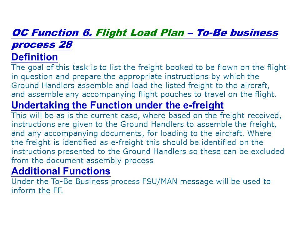 OC Function 6.