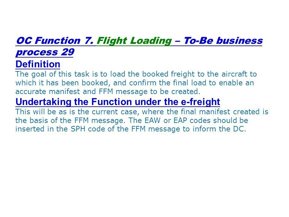 OC Function 7.