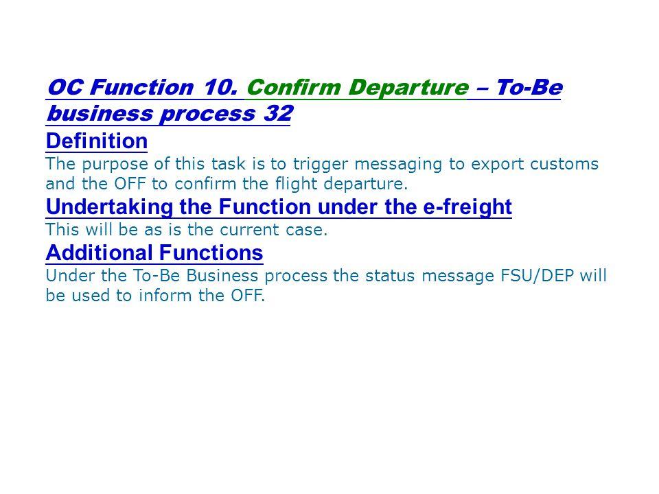 OC Function 10.