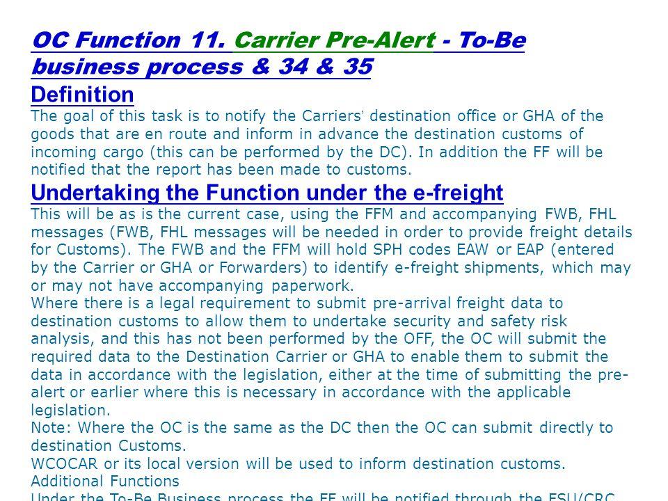 OC Function 11.