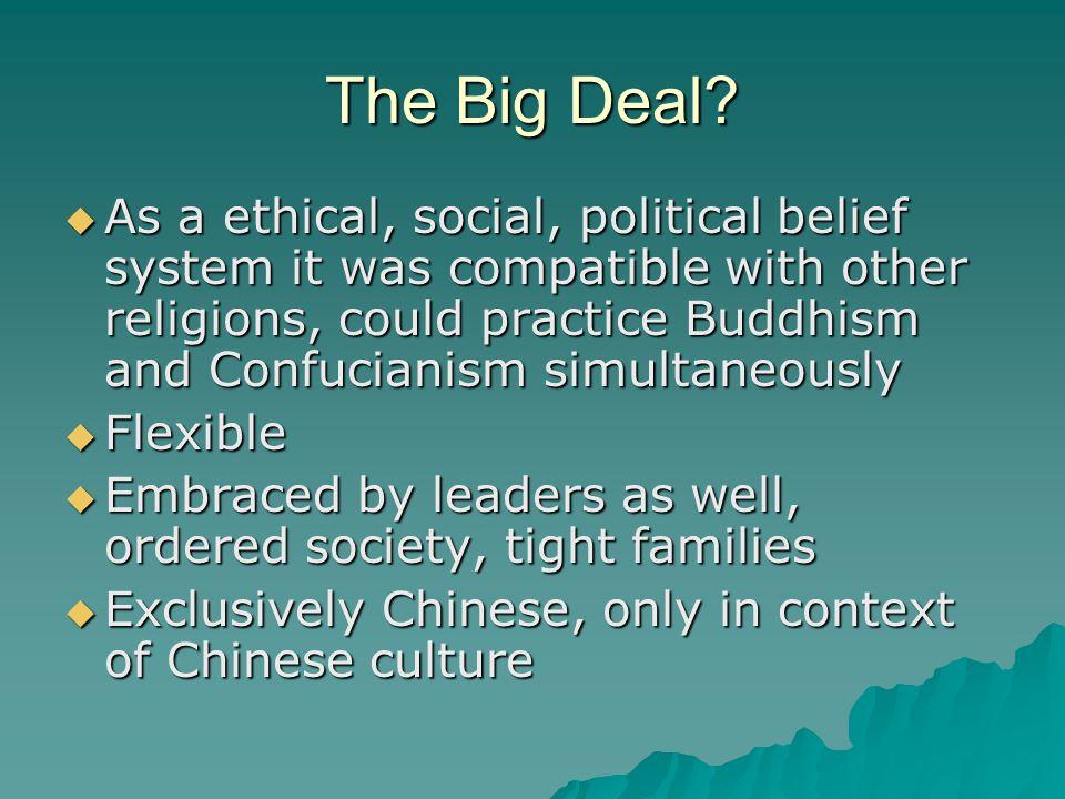 The Big Deal.