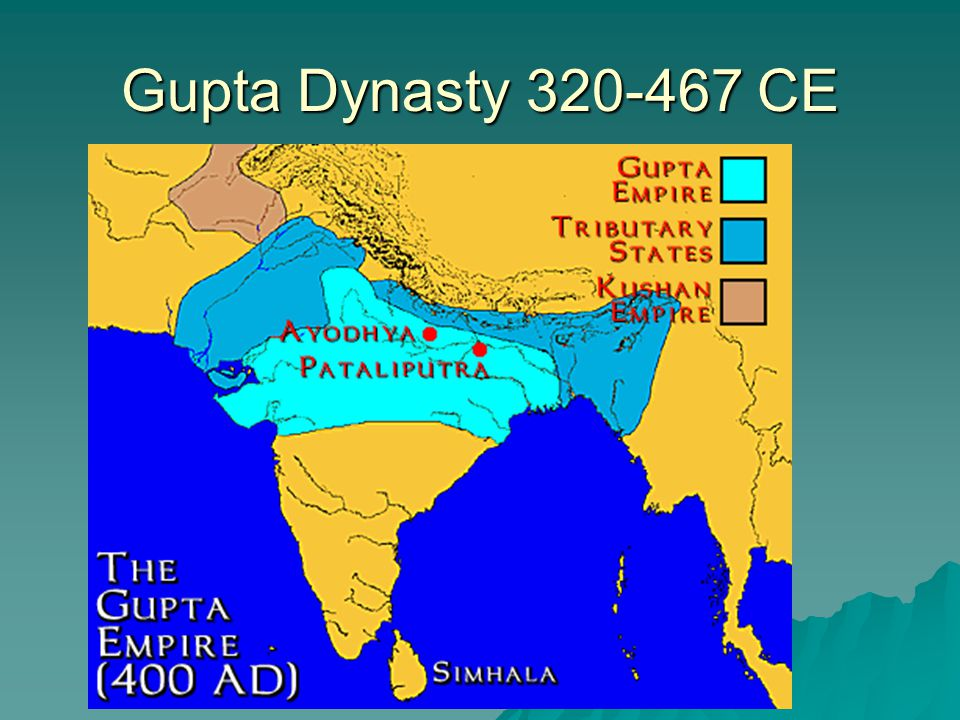 Gupta Dynasty 320-467 CE