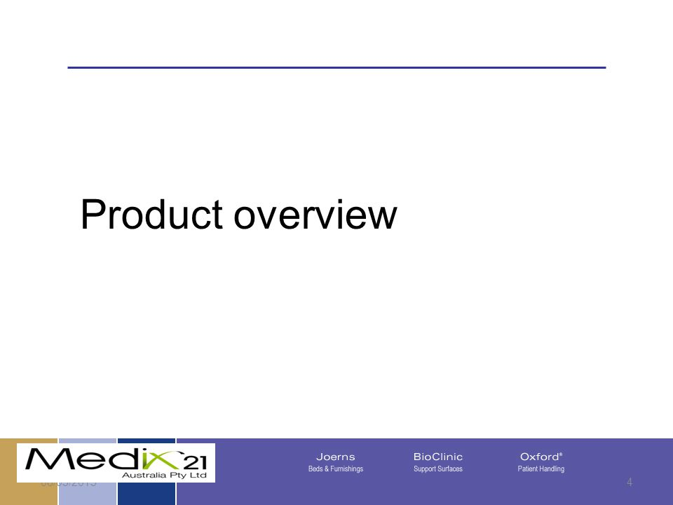 08/05/20154 Product overview