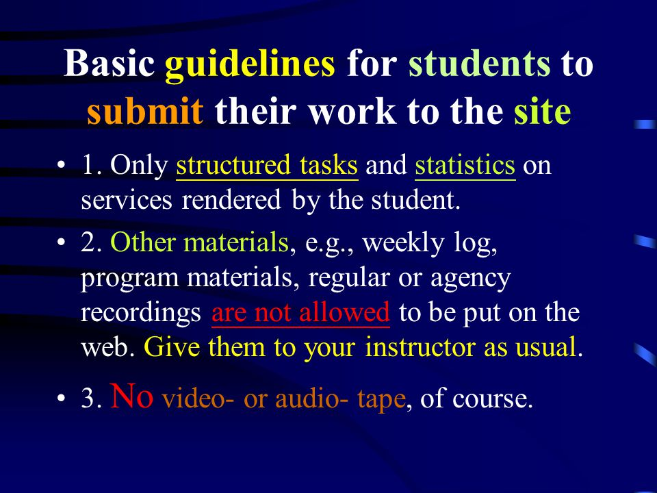If instructors have difficulties to go to the web...