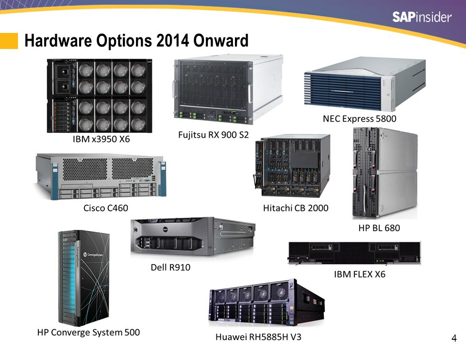 4 Hardware Options 2014 Onward