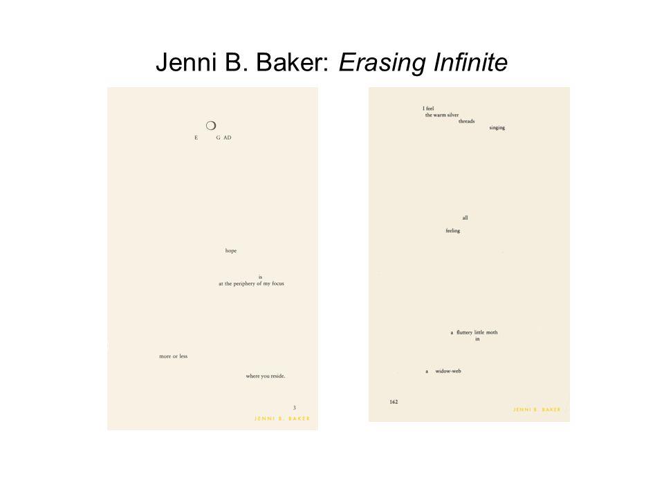 Jenni B. Baker: Erasing Infinite