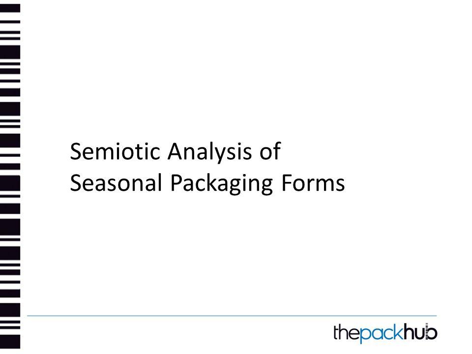 Semiotic Analysis of Seasonal Packaging Forms