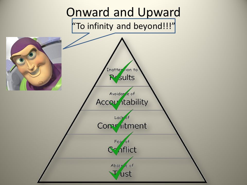 """Onward and Upward """"To infinity and beyond!!!"""""""