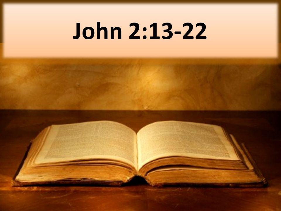 John 2:13-22