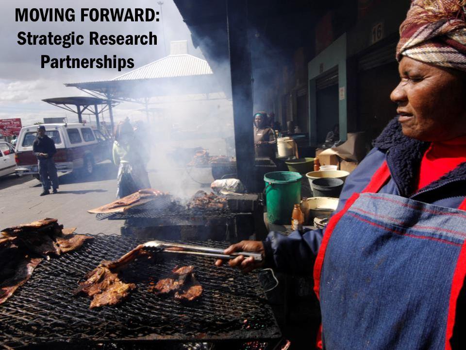 MOVING FORWARD: Strategic Research Partnerships