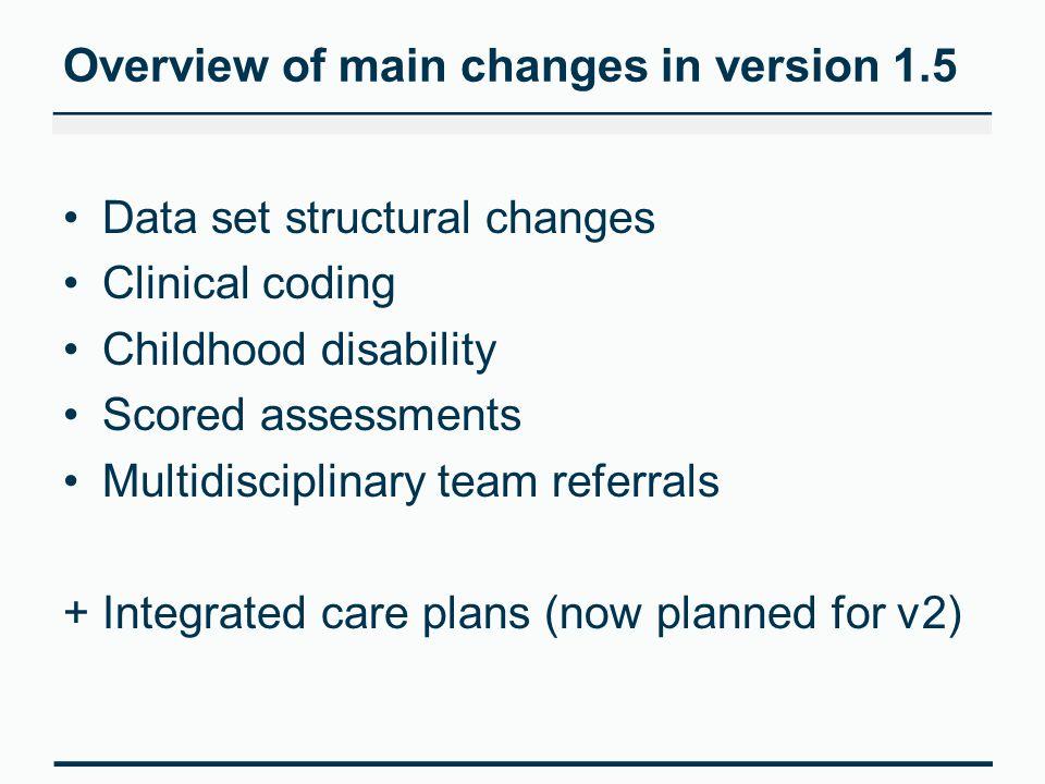 Childhood Disability Tom Latham Senior Datasets Maintenance Analyst 19
