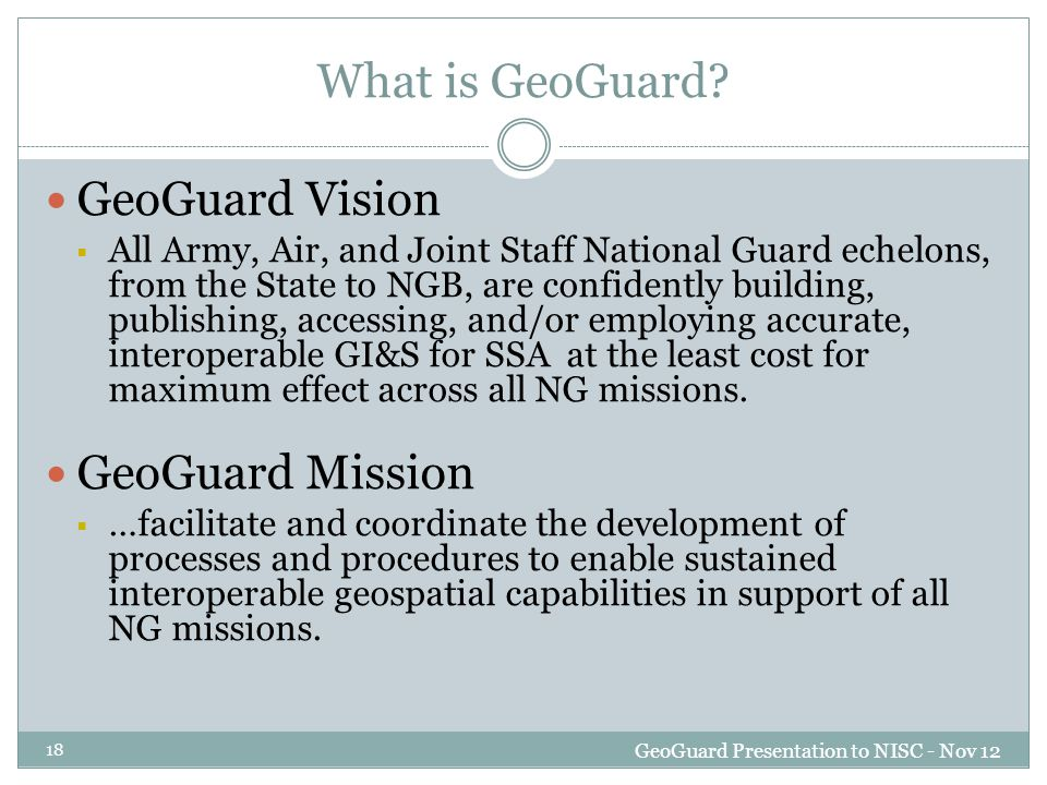 What is GeoGuard.