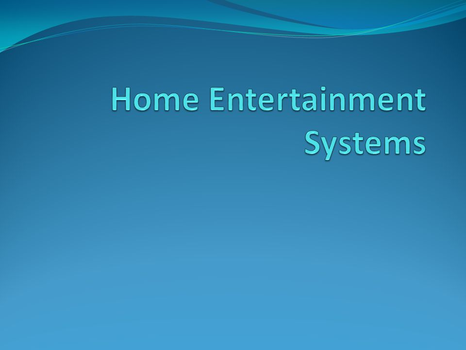 Home Theatre Systems Home Theatre Sytems- Televisions, dvd players and speakers combined.