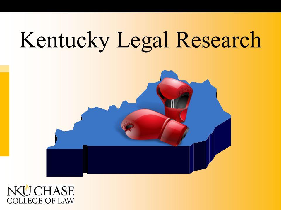 Kentucky Legal Research