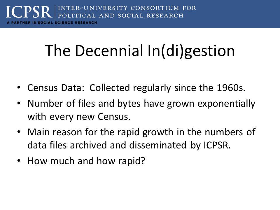 The Decennial In(di)gestion