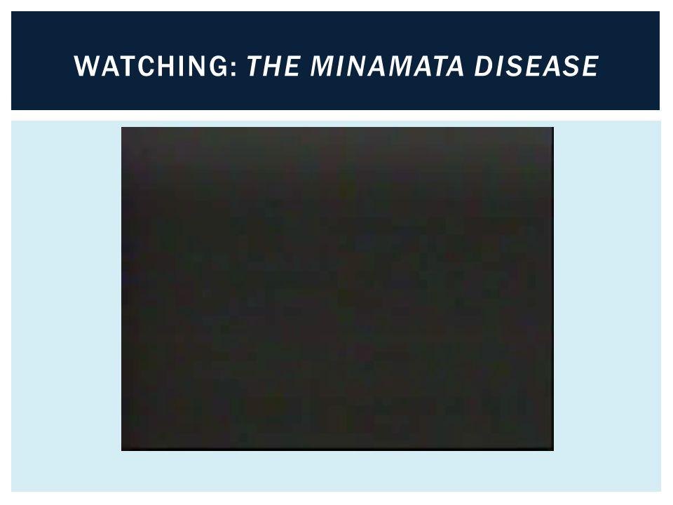 WATCHING: THE MINAMATA DISEASE