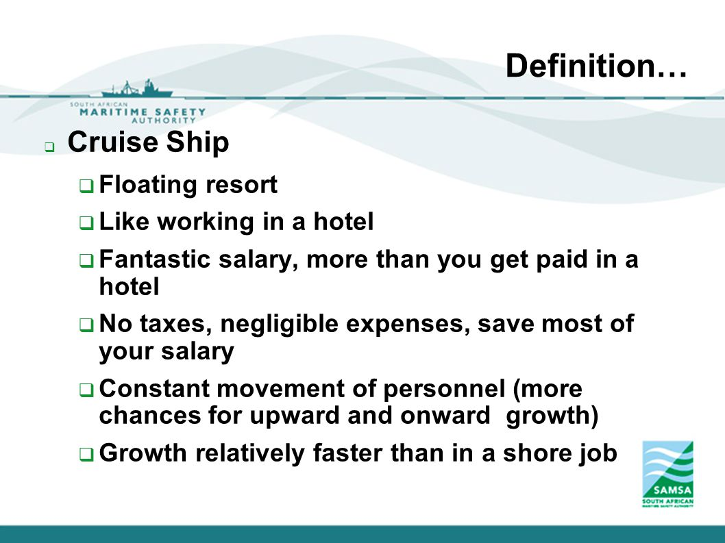 Dining Room Manager Salary Marine Tourism And Leisure Definition U2026 Cruise Ship Floating