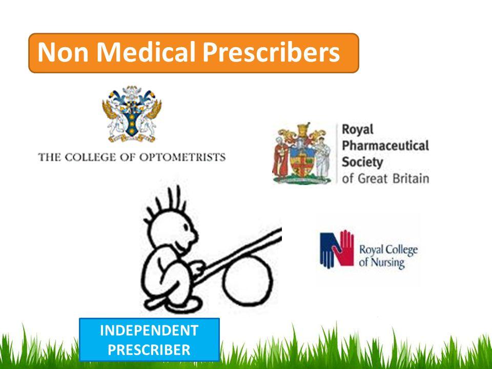 Non Medical Prescribers INDEPENDENT PRESCRIBER