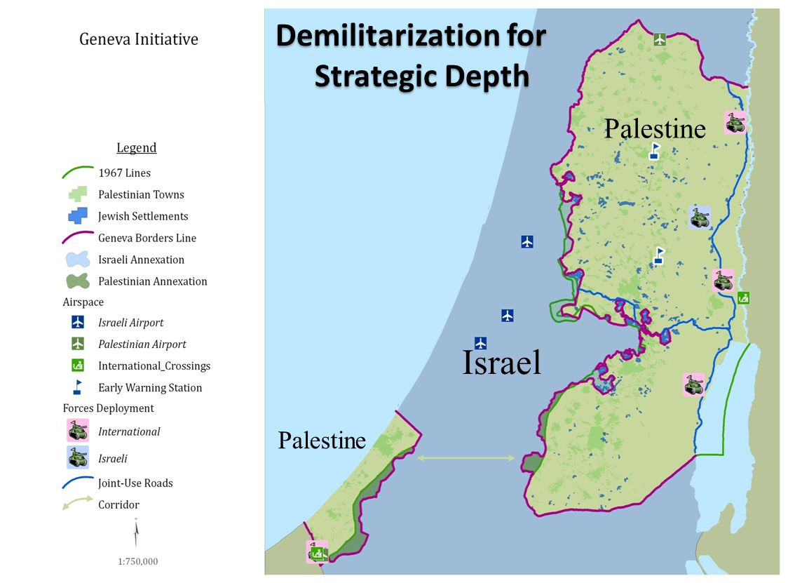Israel Palestine Demilitarization for Strategic Depth Demilitarization for Strategic Depth