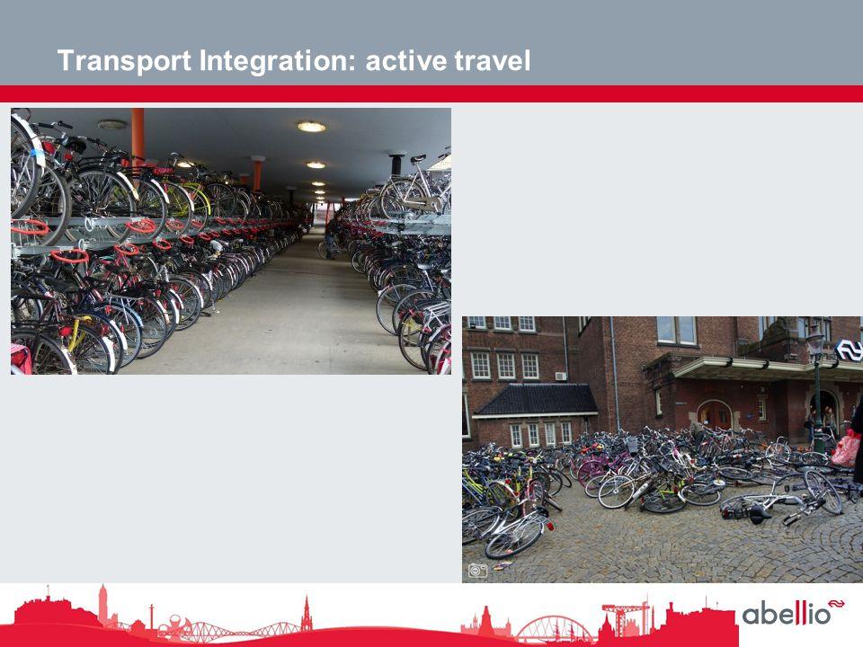 Transport Integration: active travel