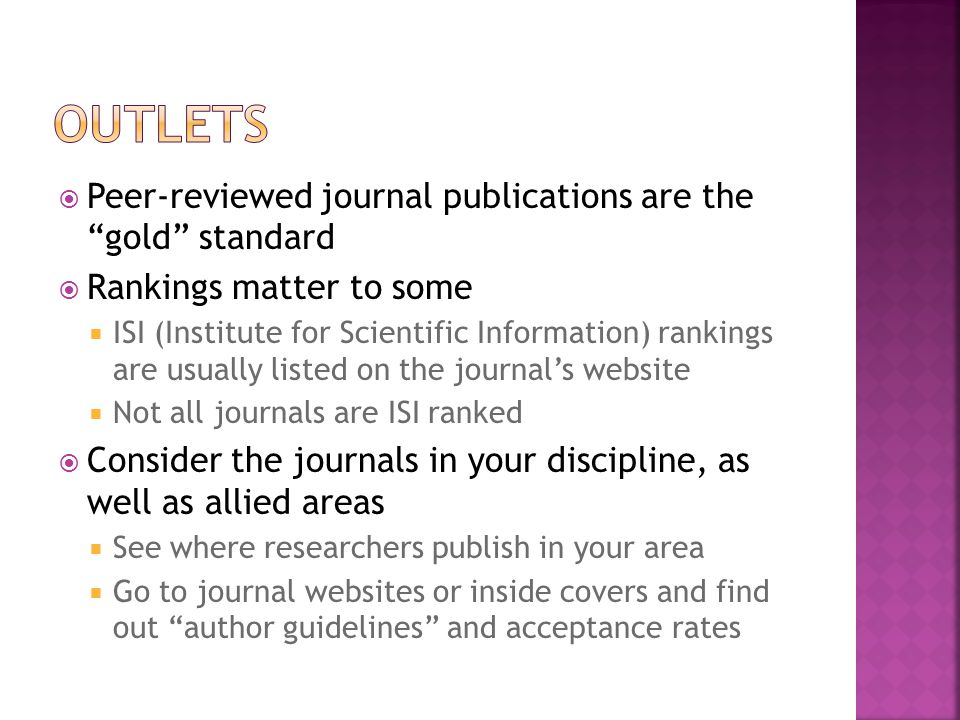  Peer-review is typically blind. In other words, the reviewers will not know you or your work.
