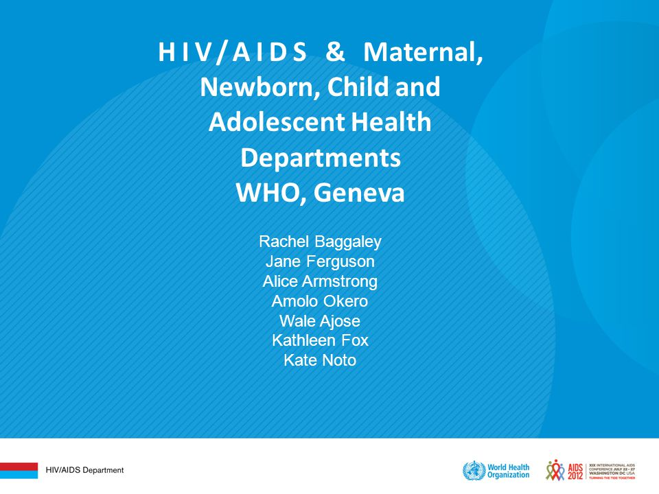 Journey of life for children with HIV – from diagnosis to adulthood Knowing and sharing your status
