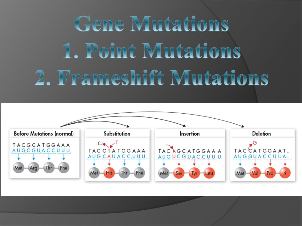 What Causes Mutations?  Can be caused by mutagens- a physical or chemical cause of mutation. Examples: UV light, radiation, drugs, and benzene.  Mut