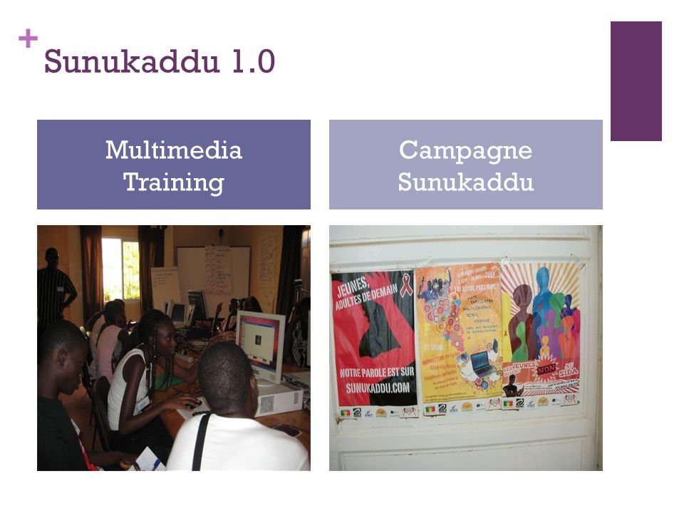 + Sunukaddu 1.0 Multimedia Training Campagne Sunukaddu