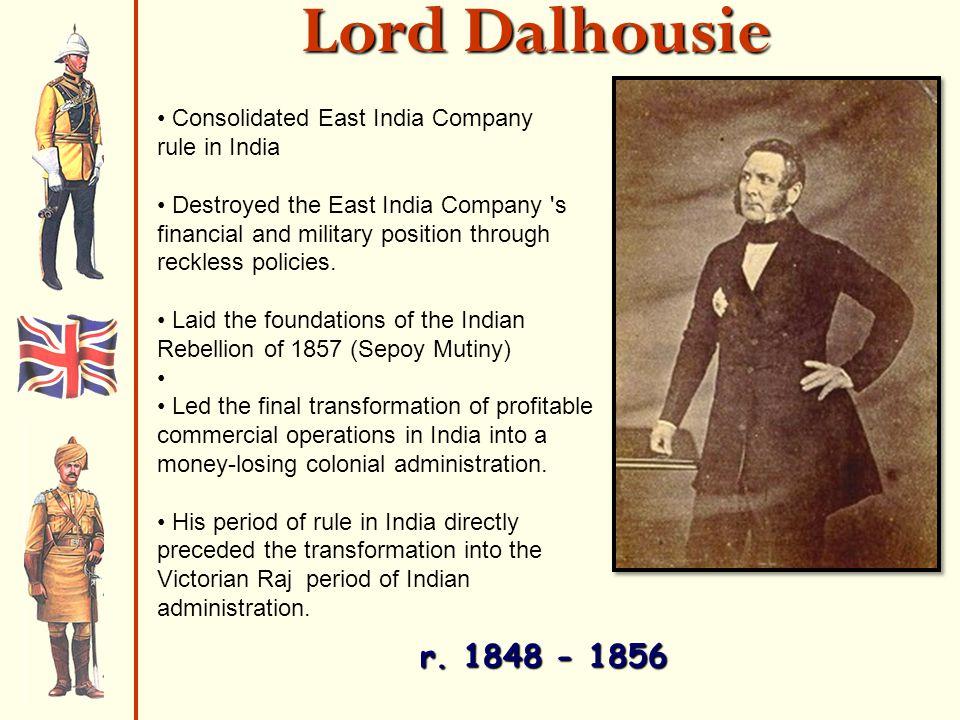 Lord Dalhousie r.