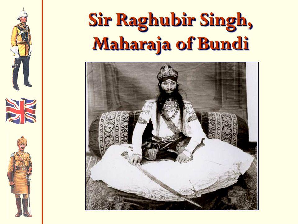 Sir Raghubir Singh, Maharaja of Bundi
