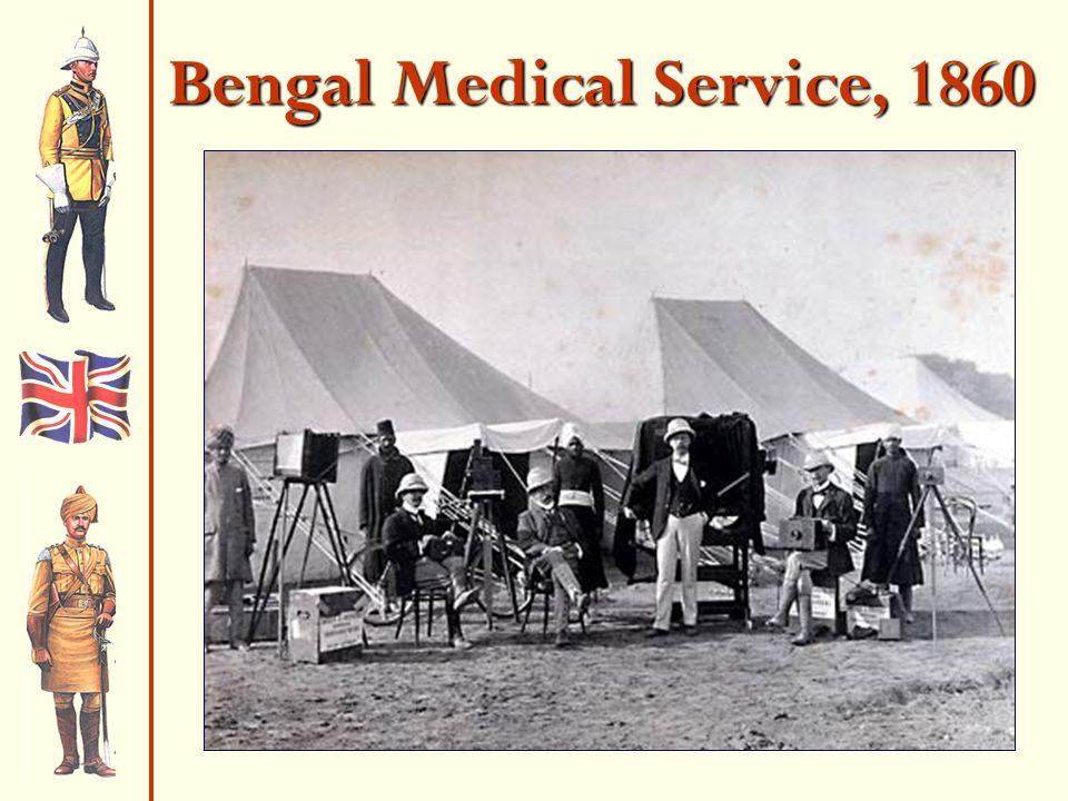 Bengal Medical Service, 1860