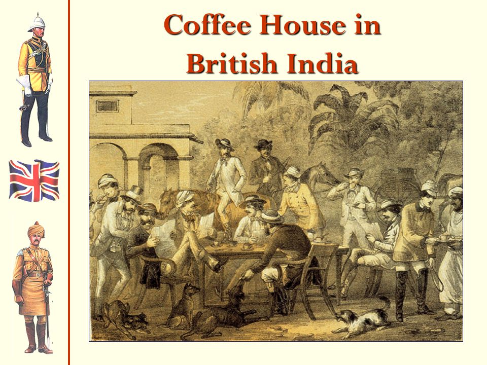 Coffee House in British India