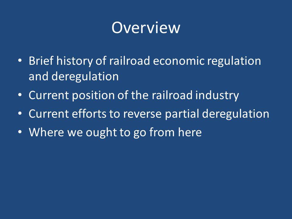The Birth of Economic Regulation of U.S.