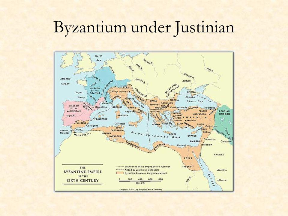 Byzantium under Justinian