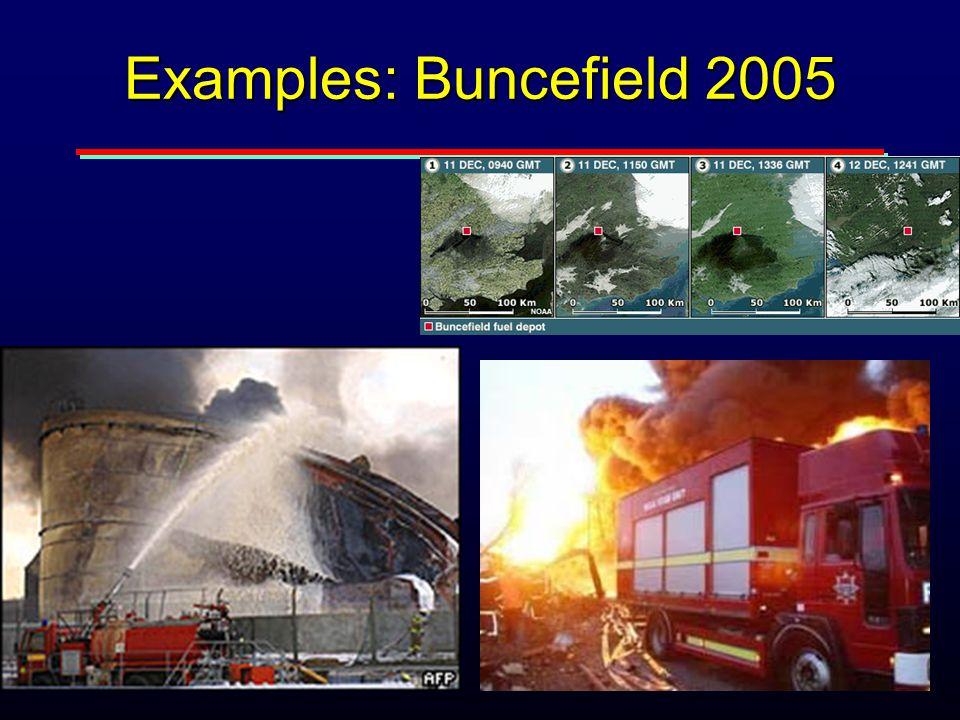 Examples: Buncefield 2005